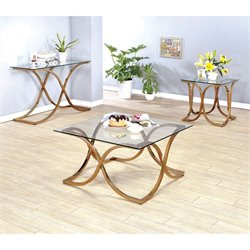 Sarif 3 Piece Coffee Table Set