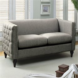 Bently Tufted Love Seat