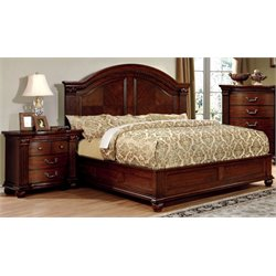 Sorella 2 Piece Bedroom Set in Cherry