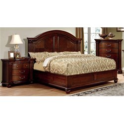Sorella 3 Piece Bedroom Set in Cherry
