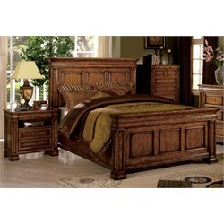 Conway 3 Piece Bedroom Set in Tobacco Oak