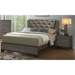 Charlsie 2 Piece Bedroom Set in Antique Gray