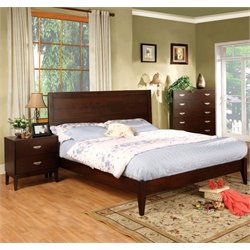 Furniture of America Brooklyn 2 Piece Queen  Panel Bedroom Set