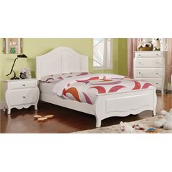 Palon 3 Piece Bedroom Set in White