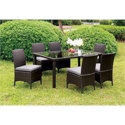 Mille 7 Piece Patio Dining Set