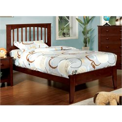 Myriam Platform Bed in Cherry