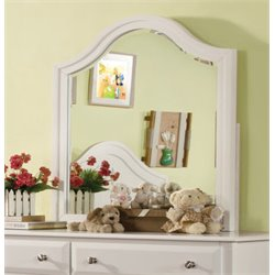 Furniture of America Palon Mirror in White