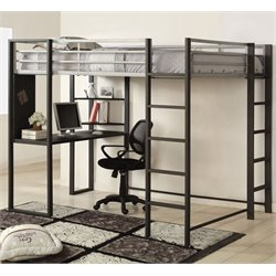 Mattelius Loft Bed in Silver