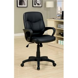 Furniture of America Rengally Office Chair in Black