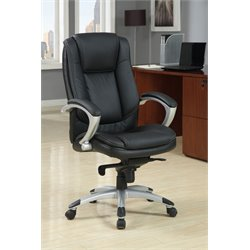 Furniture of America Wempley Office Chair in Black