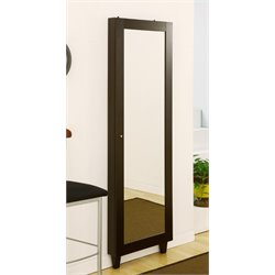 Furniture of America Granada Storage Mirror in Espresso
