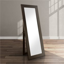 Furniture of America Frea Standing Mirror in Black