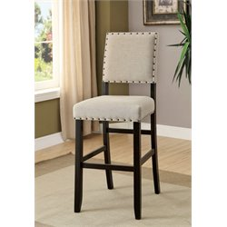 Stanton Fabric Padded Bar Chair