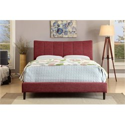 Sislah Bed in Red