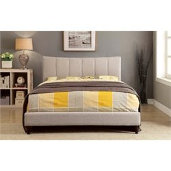 Sislah Bed in Beige