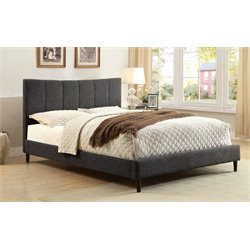 Sislah Bed in Dark Gray