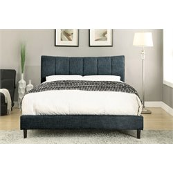Sislah Bed in Dark Blue