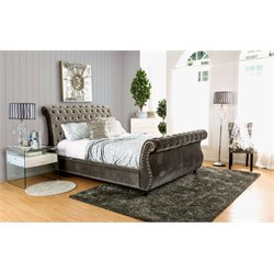 Luxy Bed in Gray