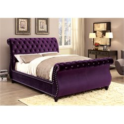 Luxy Bed in Purple