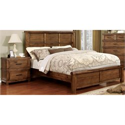 Furniture of America Cynthia 2 Piece Panel Bedroom Set-SH