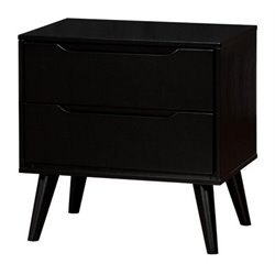 Furniture of America Farrah 2 Drawer Nightstand-SP