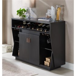 Furniture of America Trenta Contemporary Server in Black