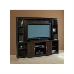 Trent Home Elite Entertainment Center in Cinnamon Cherry