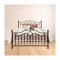 Trent Home Ingo Full Metal Bed in Bronze