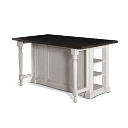 Sunny Designs Bourbon Country Kitchen Island in French Country