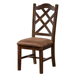 Sunny Designs Santa Fe Dining Chair in Dark Chocolate