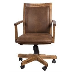 Sunny Designs Santa Fe Office Chair in Dark Chocolate
