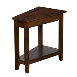 Sunny Designs Sante Fe End Table in Dark Chocolate