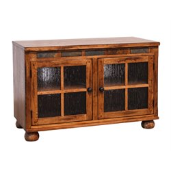 Sedona TV Stand in Rustic Oak