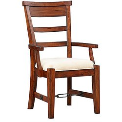 Sunny Designs Tuscany Dining Arm Chair in Vintage Mocha