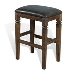 Homestead Backless Bar Stool in Tobacco Leaf
