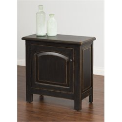 Sunny Designs End Table in Black