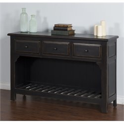 Sunny Designs Console Table in Black