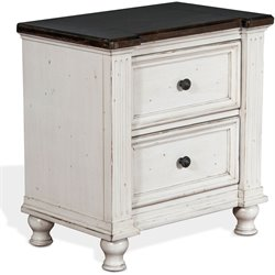 Sunny Designs Carriage House Nightstand in European Cottage