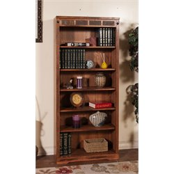 Sedona Bookcase in Rustic Oak
