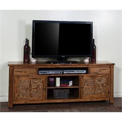 Sedona TV Stand in Rustic Birch