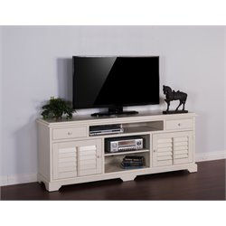 TV Stand in Vintage White