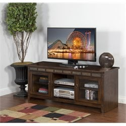 Santa Fe TV Stand in Dark Chocolate