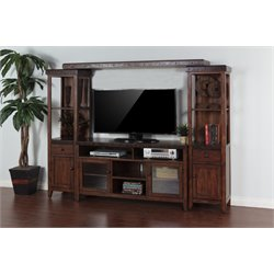 Sunny Designs Vineyard Tuscany Entertainment Center in Vintage Mocha