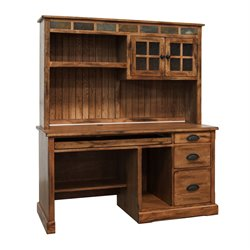 Sedona Computer Desk in Rustic Oak