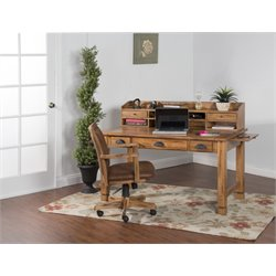 Sedona Writing Desk in Rustic Oak