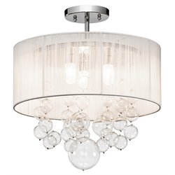 Elan Lighting Imbuia Pendant in Chrome