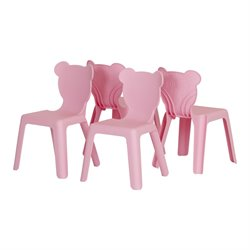 Crea Kids Plastic Stacking Chairs