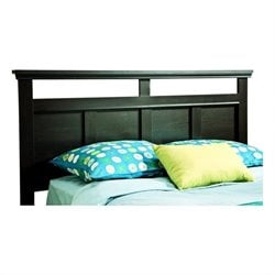 South Shore Versa Full/Queen Panel Headboard in Black
