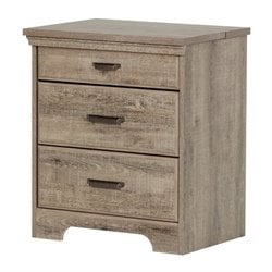 South Shore Versa 2 Drawer Nightstand