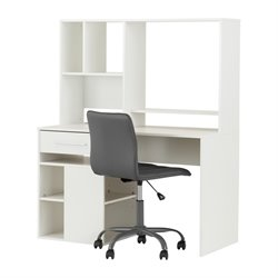 South Shore Annexe Writing Desk and Office Chair-Sh